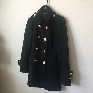 Black coat 🧥Forever21 size M